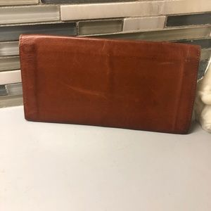 Vintage brown Coach thin wallet